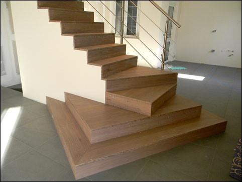 Scale interne falegnameria zeta trieste g zucca sas - Scale rivestite in legno per interni ...